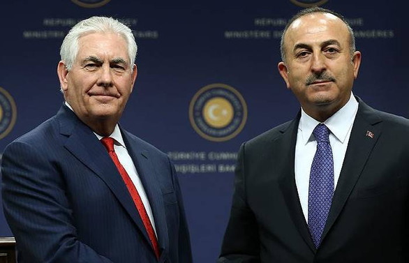 Çavuşoğlu, ABD Dışişleri Bakanı ile görüştü