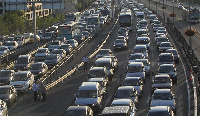 TEM Edirne yönü trafiğe açıldı