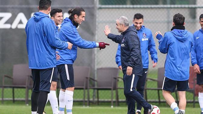 Trabzonspor, Fenerbahçe galibiyetine odaklandı