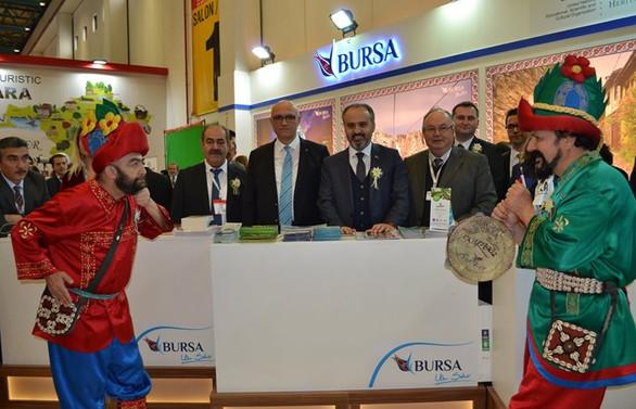 Bursa, EMITT'te değerlerini tanıttı