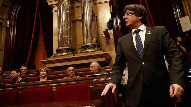 Puigdemont'un başkanlığı oylanacak