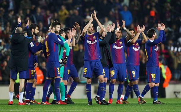 Barcelona, Kral Kupası'nda yarı finalde