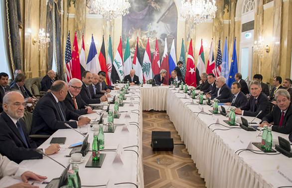 Suriye barış görüşmeleri Viyana'da yeniden başladı