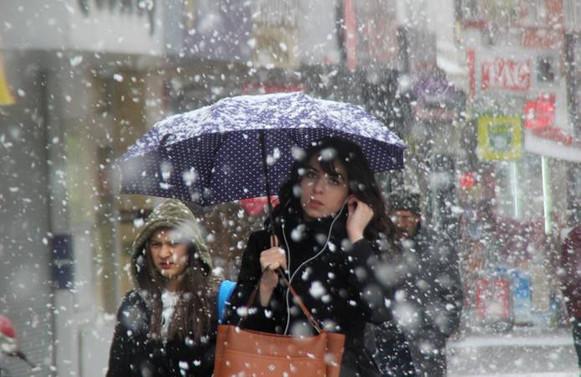 İstanbul ve çevresine kar uyarısı