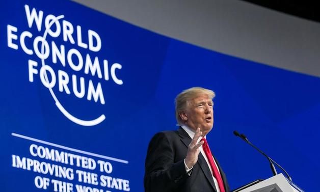 Trump Davos'ta konuştu: Yeni bir Amerika yarattık