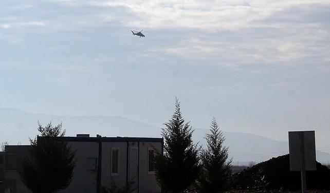 'Afrin'de helikopter düşürüldü' haberine yalanlama