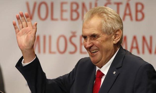 Çekya Cumhurbaşkanı Zeman, yeniden seçildi