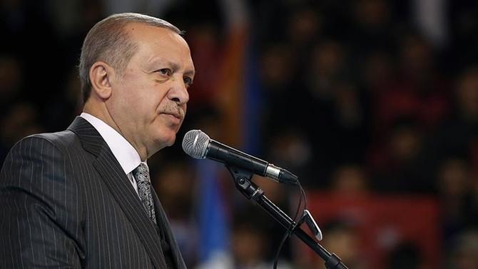 Erdoğan: Afrin'de toprak meraklısı değiliz
