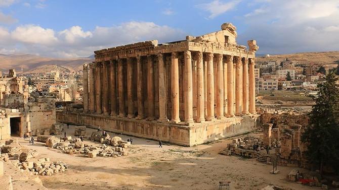 Dünyanın en görkemli tapınak şehri 'Baalbek'