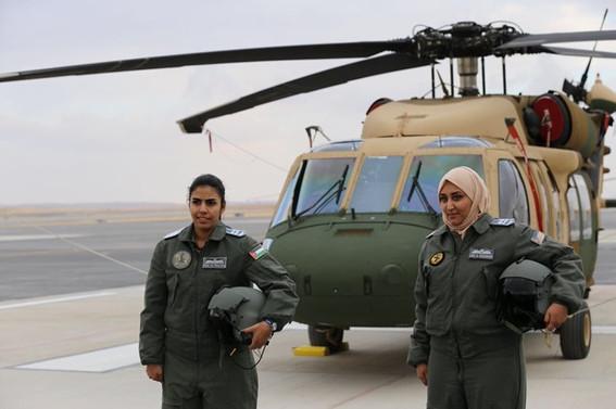 Ürdün, Black Hawk helikopterlerini teslim aldı