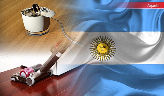 Arjantinli ithalatçı elektrikli ev aletleri talep ediyor