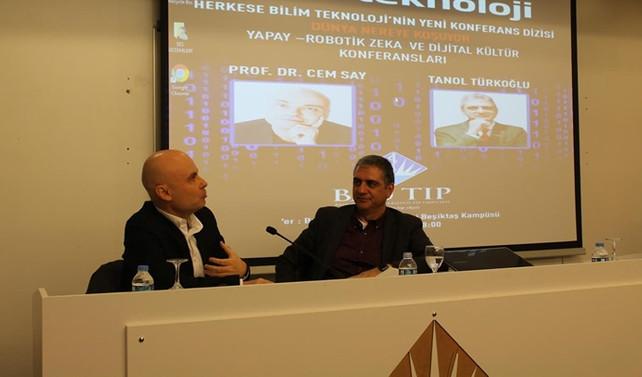 Beşiktaş'ta yapay zeka konferansı yapıldı