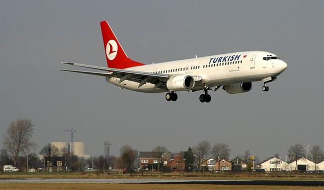 THY'nin iki uçağı İsviçre'ye inemedi