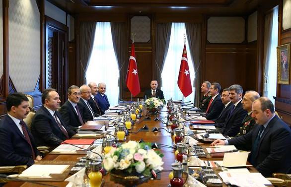 Erdoğan başkanlığında ilk savunma toplantısı