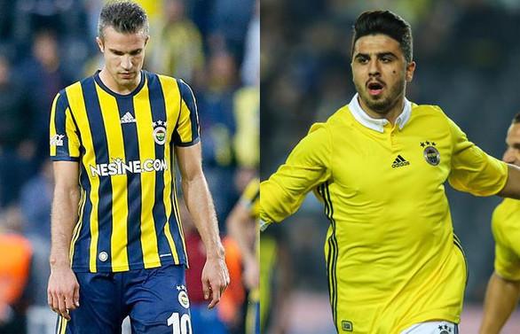 Fenerbahçe'de iki futbolcu kadro dışı
