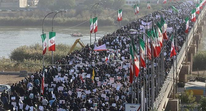 İran'da rejime destek gösterileri devam ediyor