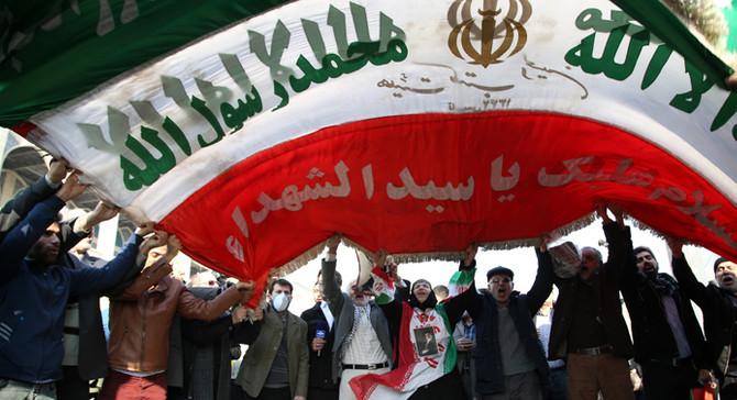 İran'da hükümet destekçileri ABD'yi protesto etti