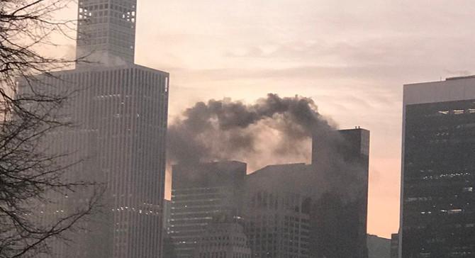 New York'taki Trump Towers'ta yangın çıktı