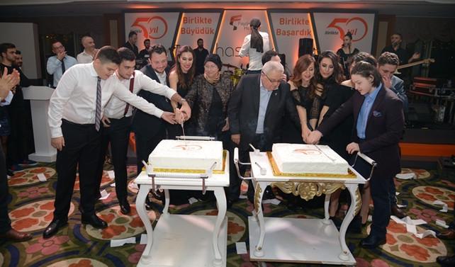 Faydasıçok Holding 50.yılını kutladı
