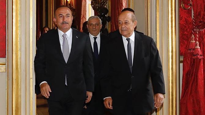 Fransa'dan 'Çavuşoğlu-Le Drian görüşmesi' açıklaması