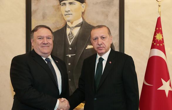 Erdoğan ve Pompeo 40 dakika görüştü