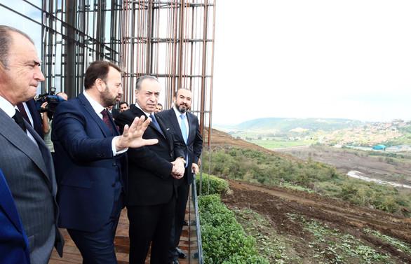Galatasaray'ın Riva arazisine yapılacak proje tanıtıldı