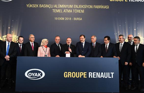 Oyak Renault'dan Bursa'ya motor yatırımı