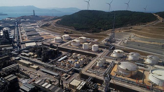 Star Rafinerisi, Türkiye'nin ilk özel endüstri bölgesi oldu