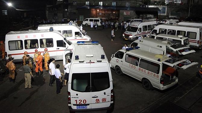 Çin'de maden ocağında patlama: 22 kişi mahsur kaldı