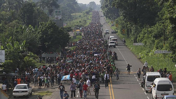 ABD göçmenler için sınır devriyelerini harekete geçirdi