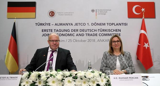 Pekcan: Almanya'nın yatırımlarının artarak devam edeceğine inanıyorum