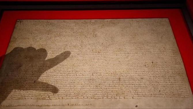 Magna Carta'yı çalmaya çalıştı