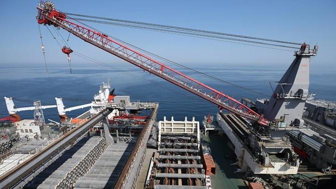 TürkAkım'ın deniz geçişinin yüzde 95'i tamam