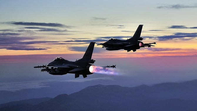 Irak'ın kuzeyine hava harekatında 4 terörist etkisiz hale getirildi