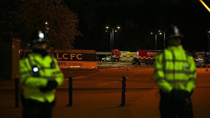 Leicester City'nin sahibinin helikopteri düştü