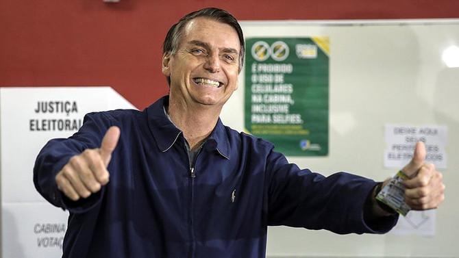 Brezilya'da zafer Bolsonaro'nun