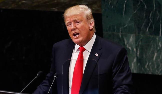 Trump, mali yardımı el altından durdurmayı amaçlıyor