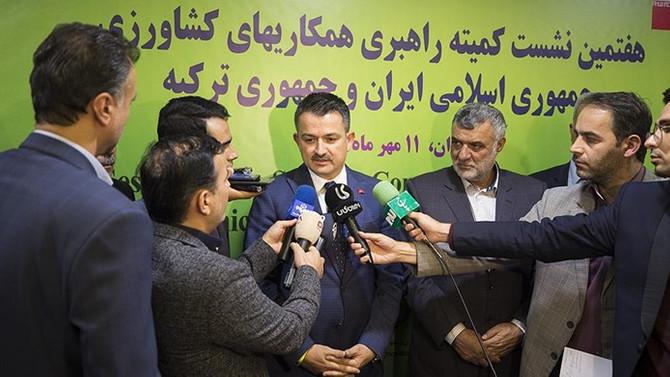Türkiye ve İran'dan tarımda iş birliği