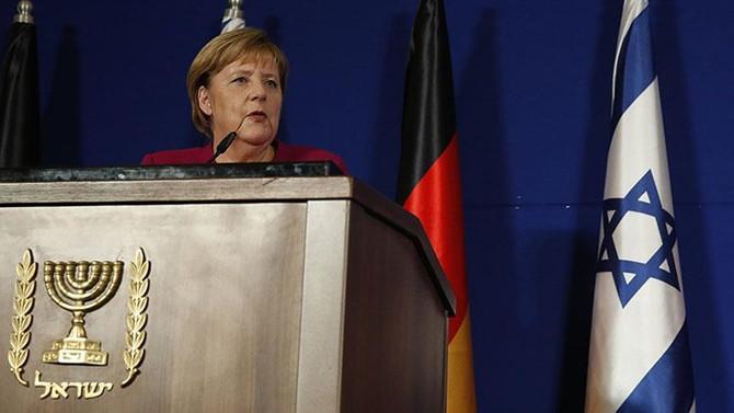 Merkel: İran güçleri Suriye'den çekilmeli