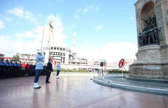 İstanbul'un kurtuluşunun 95. yıl dönümü
