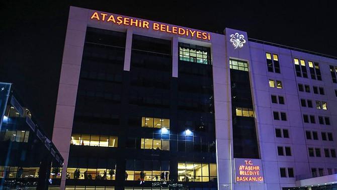 Ataşehir Belediyesi'ne operasyon