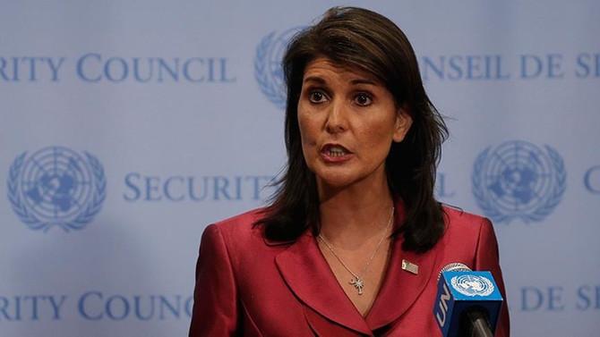 ABD'nin BM Temsilcisi Haley istifa etti