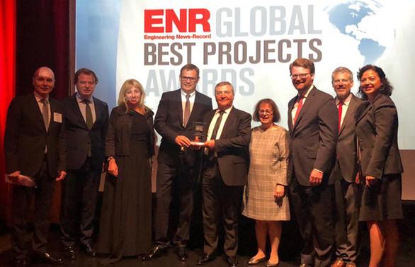 Türkmenbaşı Limanı'na 'ENR Best Project' ödülü