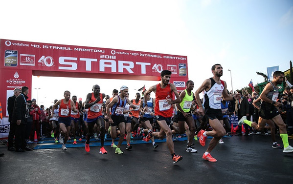 Vodafone 40. İstanbul Maratonu'nda parkur rekoru