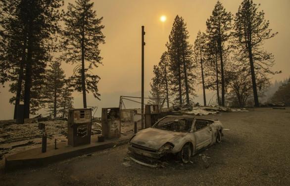 California'da ölü sayısı 74'e çıktı