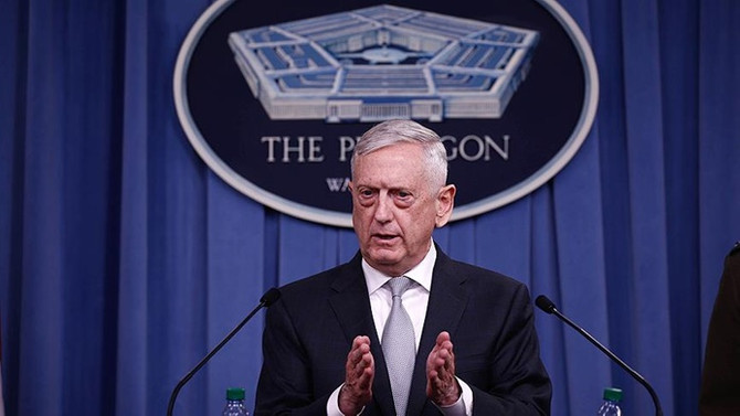 Mattis: Suriye'nin kuzeyinde gözlem noktası kurulacak