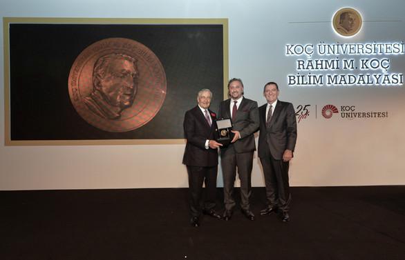 Rahmi M. Koç Bilim Madalyası, Metin Sitti'ye verildi