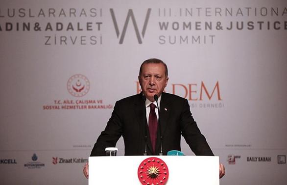 Erdoğan: Kamu istihdamında kadın oranı yüzde 38