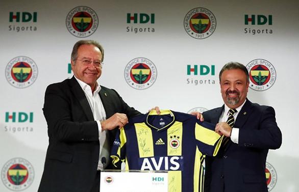 HDI, Fenerbahçe'nin sigorta sponsoru oldu
