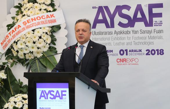 Gülle: İstanbul'a gelecek 200 milyon kişiye ayakkabı satmalıyız